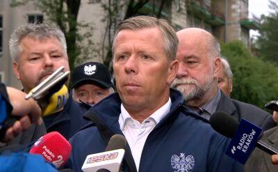 Wojewoda małopolski Piotr Ćwik o ofiarach burzy w Tatrach