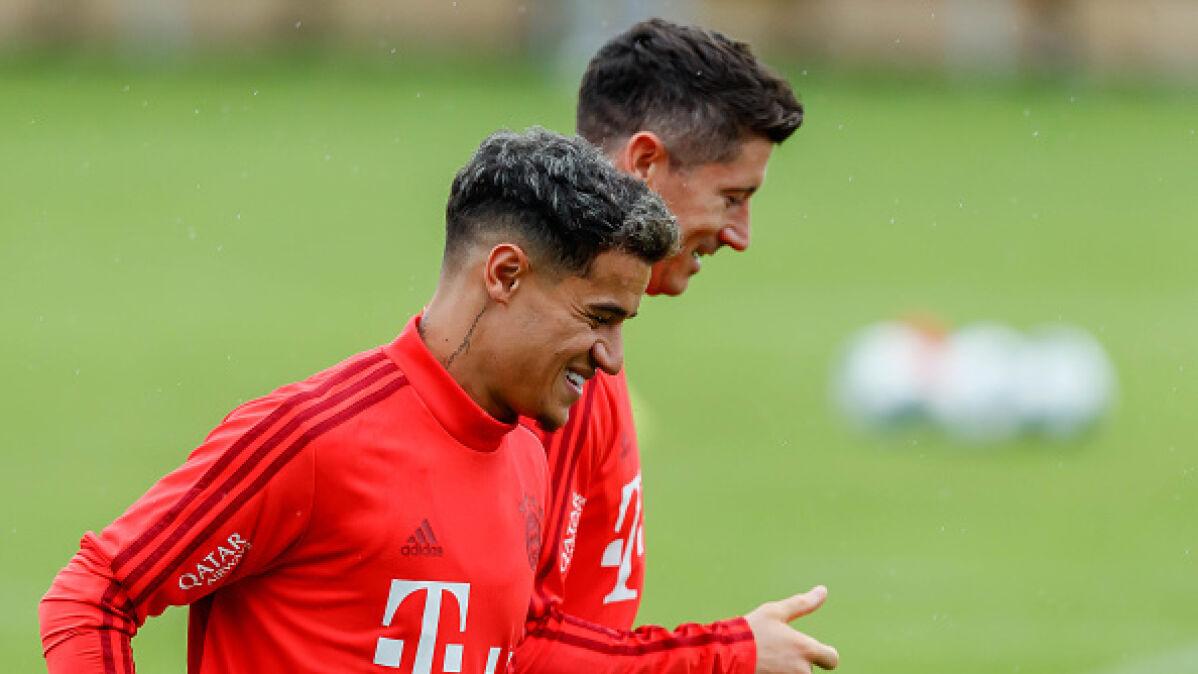 """""""Lewy"""" zadowolony z transferu Coutinho. """"Teraz nasza sytuacja wygląda lepiej"""""""