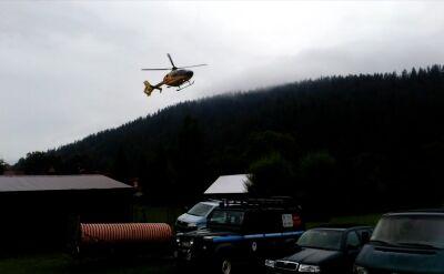 Poszkodowani po burzy, która przeszła nad Tatrami