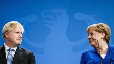 Merkel i Johnson zgodni: dołączenie Rosji do G7 na razie niemożliwe
