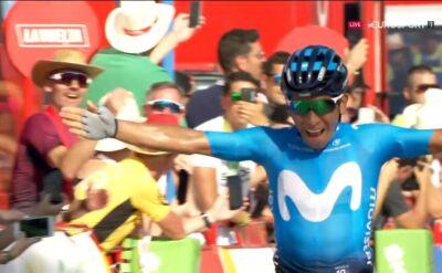 Quintana wygrał 2. etap Vuelta a Espana