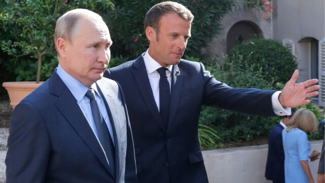 Putin i Macron po rozmowie. Padła zapowiedź spotkania w formacie normandzkim
