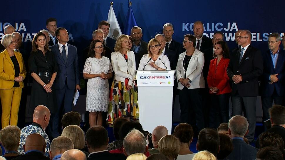 """Schetyna przedstawił """"jedynki"""" Koalicji Obywatelskiej do Sejmu. Jedna ważna zmiana"""