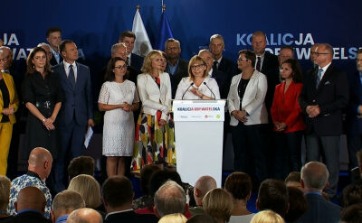 """Koalicja Obywatelska przedstawiła """"jedynki"""". Jest jedna zmiana"""