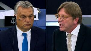 Verhofstadt do Orbana: Pan nie jest Węgrami. Naród to dużo więcej niż pan