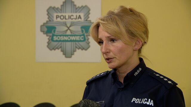 Nożownika w Sosnowcu zatrzymano chwilę po ataku