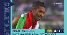 Rekord świata i złoty medal. Van Niekerk najszybszy na 400 m w Rio de Janeiro