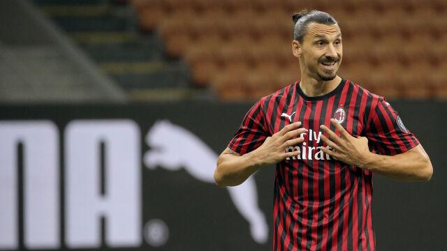 """Ibrahimović nie myśli o emeryturze. """"Mogę grać na tym poziomie do pięćdziesiątki"""""""