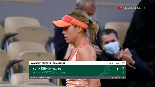 Kenin awansowała do finału Roland Garros
