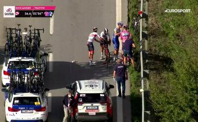 Kraksa lidera Giro d'Italia na 6. etapie