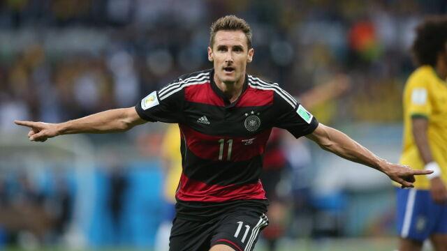 Miroslav Klose zakończył karierę. Teraz zostanie trenerem