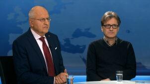 Marek Ostrowski i Cezary Michalski