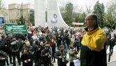 """""""Dość zemsty na wojskowych emerytach"""". Protest przeciwko ustawie dezubekizacyjnej"""