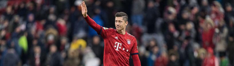 Lewandowski nominowany. UEFA wybiera Drużynę Roku