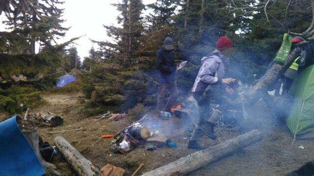 Nielegalny biwak w parku narodowym zakończony mandatami