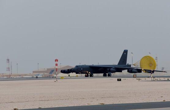 B-52H Stratofortress wylądował na lotnisku w Katarze
