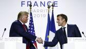 Nagranie z 26 sierpnia: Emmanuel Macron proponuje spotkanie Donalda Trumpa z Hasanem Rowhanim