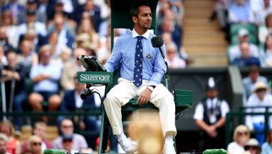 Sędzia z finału Wimbledonu zwolniony. Podpadł wywiadami