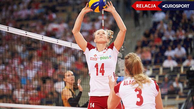 Polska - Belgia w mistrzostwach Europy siatkarek [RELACJA]