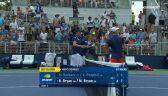 Skrót meczu Hurkacz/Pospisil - Bryan/Bryan w 1. rundzie debla US Open