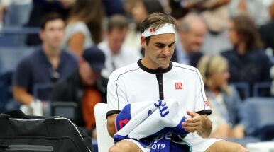 Federer wciąż szuka formy. Mecz z 99. tenisistą świata rozpoczął od 0:4