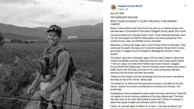 Odnaleziono ciało amerykańskiego trenera. Zaginął trzy tygodnie temu