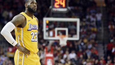 LeBron James przeciwny zakończeniu rozgrywek: nikt nie powinien niczego odwoływać
