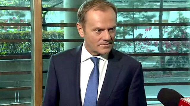 Tusk: nie było propozycji rozbioru Ukrainy. Sprawa wywiadu zamknięta