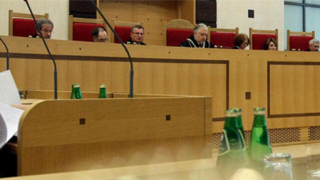 Wyrok odczytał sędzia Andrzej Rzepliński (TVN24)