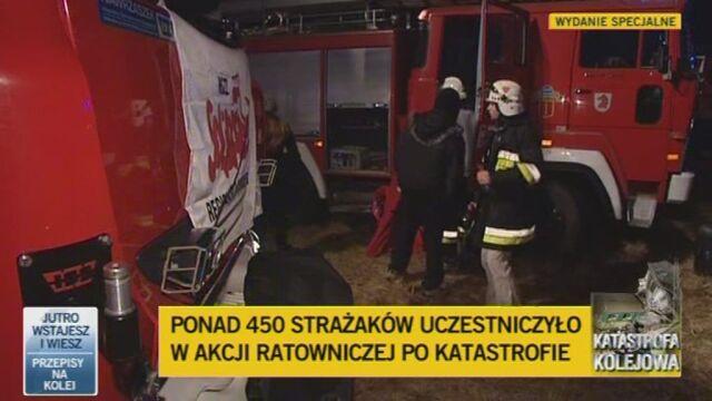 Rzecznik Straży Pożarnej Paweł Frątczak