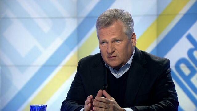 Kwaśniewski: Nie wycofam się z zarządu ukraińskiej spółki. Nie pokażę oświadczenia majątkowego
