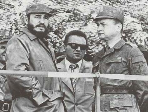 Wojciech Jaruzelski i Fidel Castro, 1972