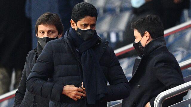"""""""Zostaw Messiego w spokoju, złodzieju"""". Prezydent PSG przywitany wyzwiskami"""