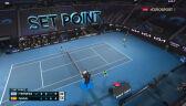 Tsitsipas wygrał 4. seta w starciu z Nadalem
