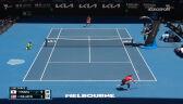 Osaka wygrała 1. seta w starciu z Williams w półfinale Australian Open