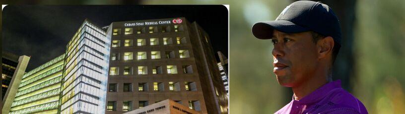 Tiger Woods przeniesiony do innego szpitala