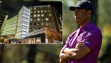 Tiger Woods przeniesiony do innego szpitala.