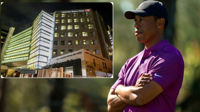 """Tiger Woods przeniesiony do innego szpitala. """"To był zaszczyt"""""""