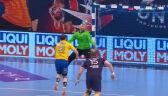 Czerwona kartka dla Moryty w meczu PSG - Łomża VIVE Kielce