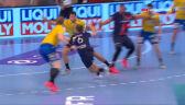 Świetna akcja Steinsa w meczu PSG - Łomża VIVE Kielce