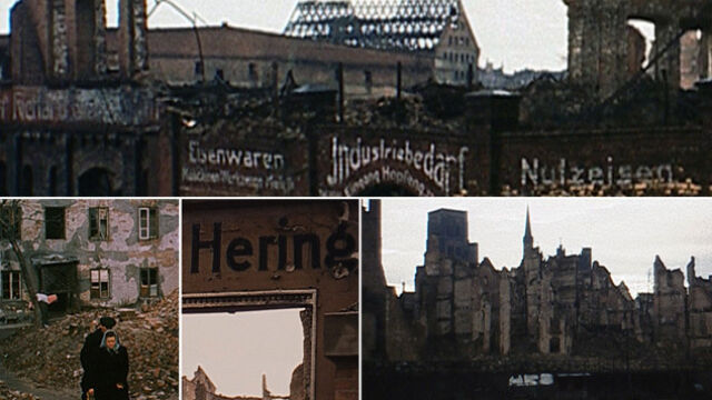 """Kolorowy Gdańsk z 1946 roku.  """"To prawdziwe odkrycie"""""""