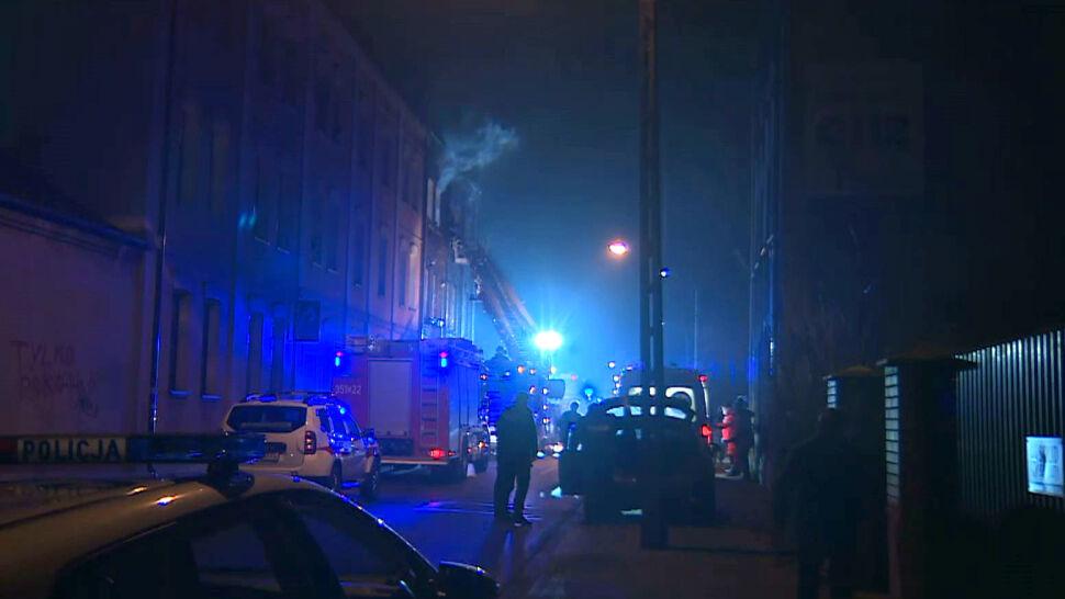 Policja zatrzymała mężczyznę podejrzewanego o podpalenie w kamienicy