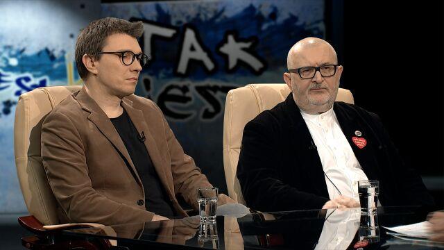 Grzegorz Sroczyński i Witold Bereś w Tak Jest