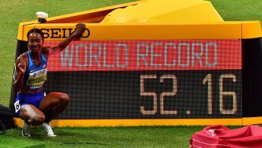 Wielki bieg mistrzyni olimpijskiej. W Dausze padł pierwszy rekord świata