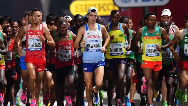 Stracił medal tuż przed metą. Dramat Szkota w maratonie, całe podium dla Afryki