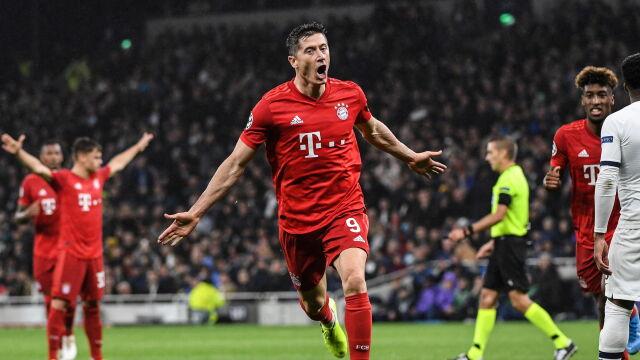 Wielki mecz Lewandowskiego i Bayernu. Tottenham rozbili w pył. I to na jego stadionie