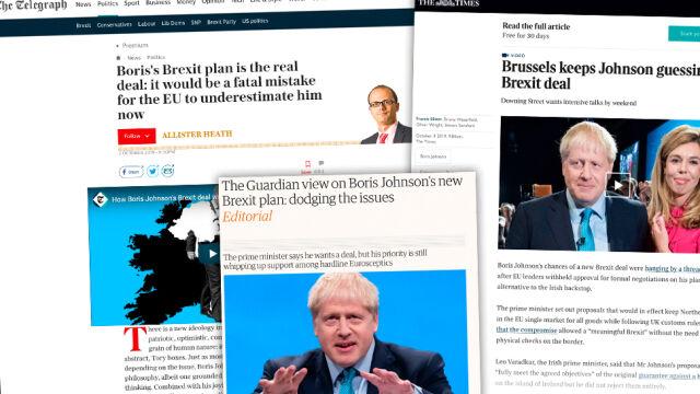 """""""Boris Johnson toczy, jak się wydaje, przegraną bitwę"""""""