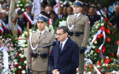 Mateusz Morawiecki na pogrzebie jego ojca - Kornela Morawieckiego