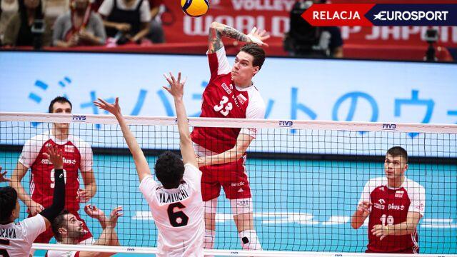 Polska - Japonia w Pucharze Świata [RELACJA]