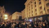 Protesty na Ukrainie w sprawie decyzji Zełenskiego o specjanym statusie Donbasu